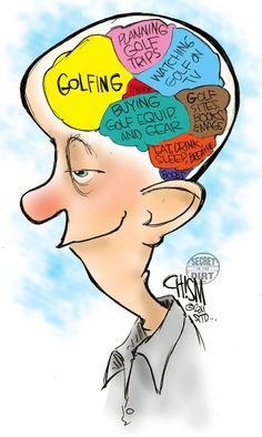 golfing mind